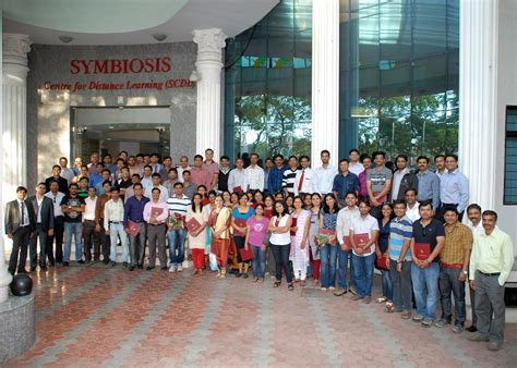 Is Symbiosis A College For Mba by Symbiosis Centre For Distance Learning Distance Education