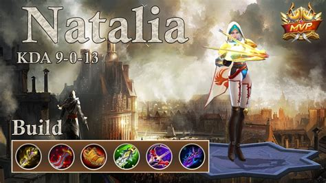 tutorial natalia mobile legends mobile legends natalia nowhere and everywhere at the