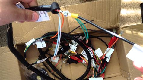 parts shop max honda ruckus gy cc swap wiring harness