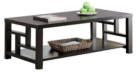 Black Ash Coffee Table 2pcs Grid Side Panel Wooden Black Ash Modern Coffee Table Wd 4029 4030 Mighty Taiwan