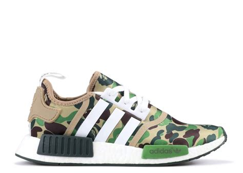 adidas bape nmd r1 bape quot bape quot adidas ba7326 green camo flight