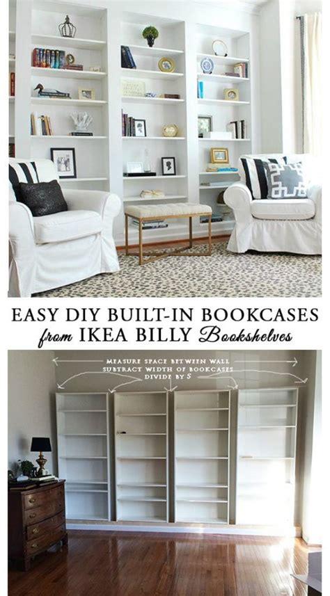 diy ikea built in bookcase best 25 billy bookcase hack ideas on ikea