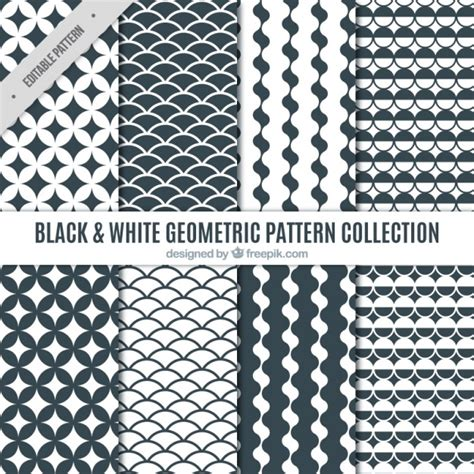 black and white geometric pattern vector free black and white geometric patterns vector free download
