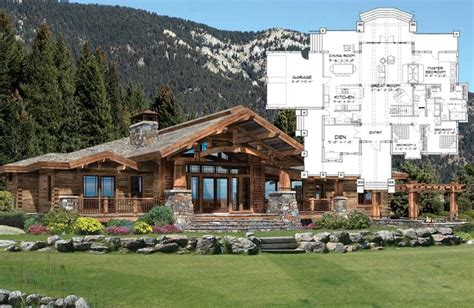 hybrid timber log home plans timber frame hybrid log and floor plan custom log home timber frame hybrid plans