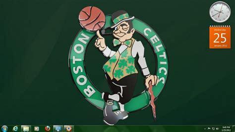 psp themes nba teams free download free windows theme boston celtics nba team logo