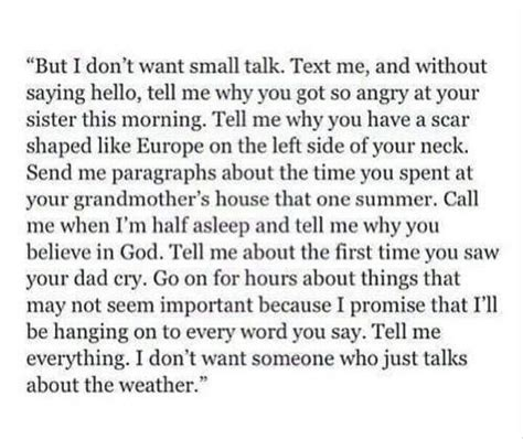 cry small talk  paragraph