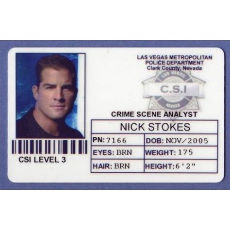 enforcement id card template 18 best images about costumes on