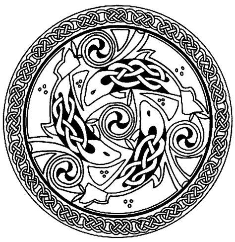 Fran 231 Ois Planchu Ressources Celtiques Celtic 01 Coloriage En L