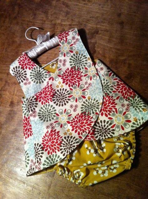 reversible cross  pinafore sewing pattern