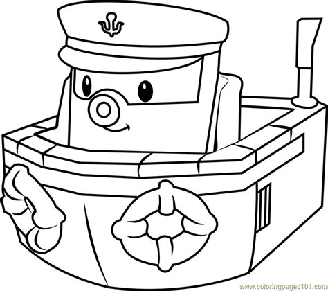 Robocar Poli Coloring Pages Games | marine coloring page free robocar poli coloring pages