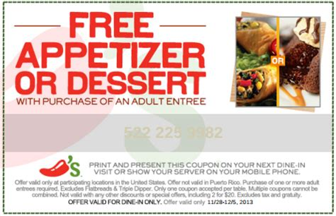 chilis to go coupon 2017 free printable coupons