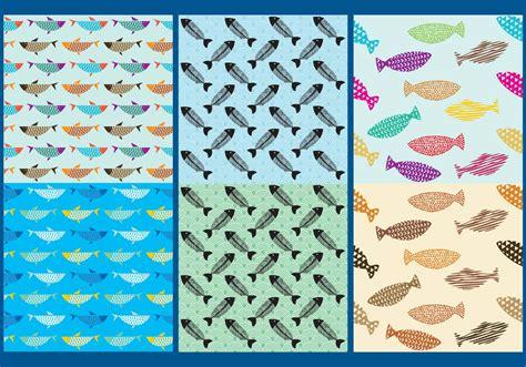 vector watercolor fish patterns download free vector art fish pattern vectors download free vector art stock