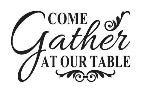 Dining Room Quote Decals