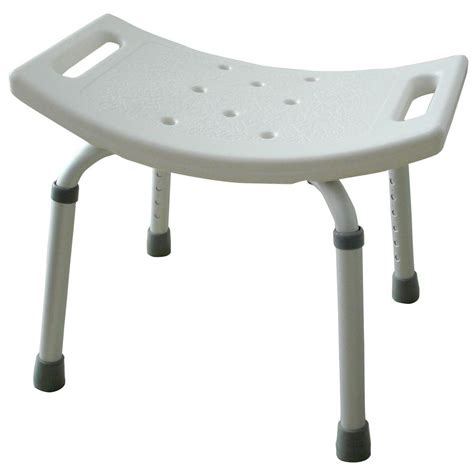 shower chairs and benches amerihome molded plastic shower seat bt07420 the home depot