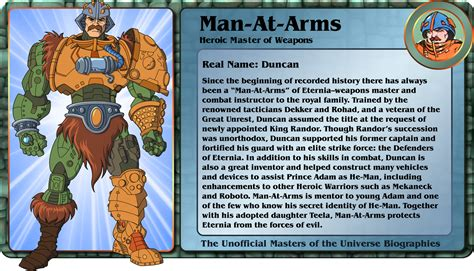 character biography list he man org gt news gt man at arms bio by gbagok