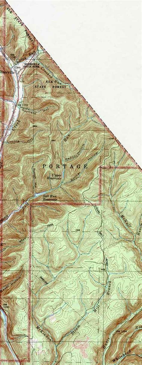 Cameron County Search Cameron County Pennsylvania Township Maps