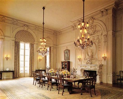 Mansion Dining Room rosecliff dining room palace mansion pinterest the o