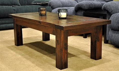 building a simple coffee table white free and easy diy furniture plans to save you