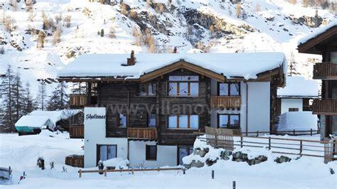 chalet ski and patio chalet shalimar villa rental in swiss alps zermatt villanovo
