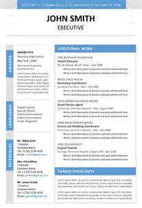 executive resumes templates executive resume template trendy resumes