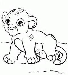 free printable simba coloring pages for