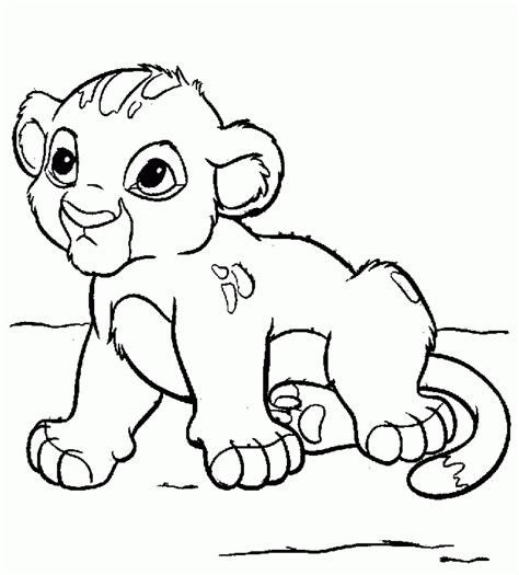 lion king coloring pages online free printable simba coloring pages for kids