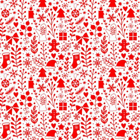 merry christmas pattern vector merry christmas seamless pattern happy new year