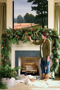 mantel swag mantel decorating ideas southern living