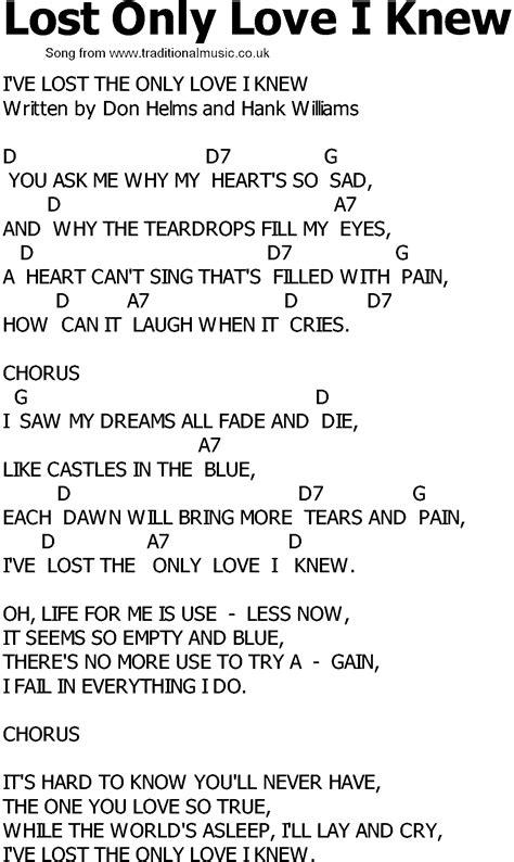 lost lyrics country quotes quotesgram