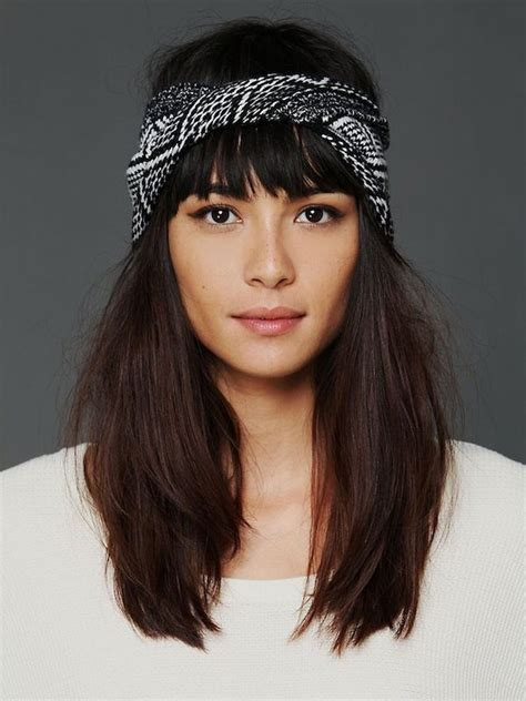 bangs for scarves for women 25 best ideas about bandana hairstyles on pinterest