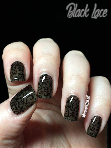 Nail Blacklace stormandstars net black lace nail