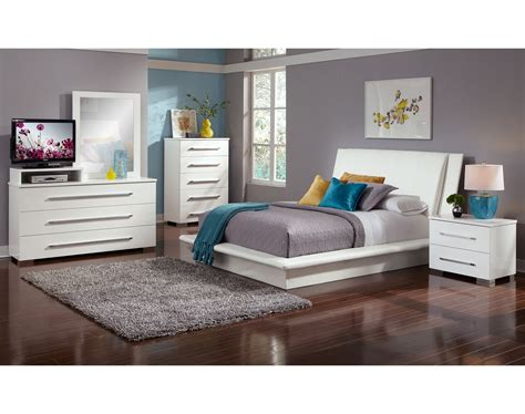dimora bedroom set white the dimora upholstered collection white value city