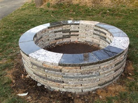 Firepit Ring Pits Ring Contemporary Patio Philadelphia By Forever Llc