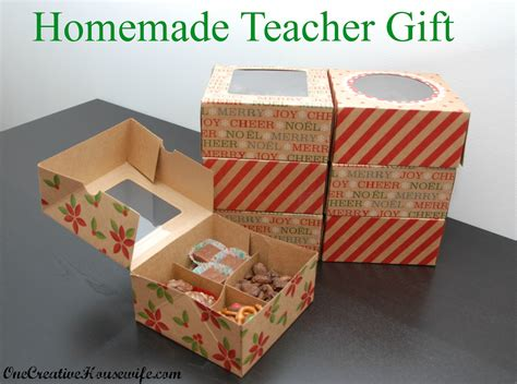 Handmade Gifts For Teachers - one creative gift for teachers