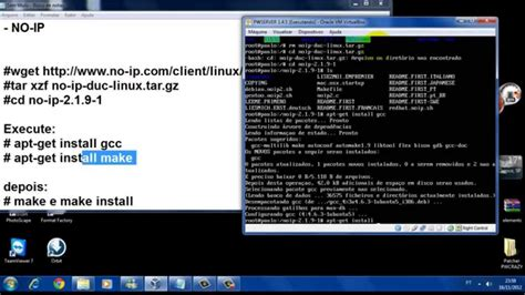 no ip linux tutorial colocando no ip fixo servidor perfect world maquina