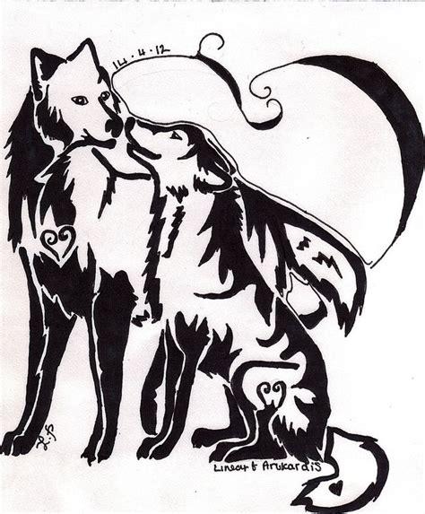 couple tattoo jinx drawings of dream catchers wolf dream catchers drawings