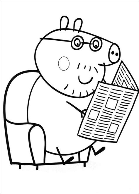 peppa pig coloring pages a4 kids n fun com 20 coloring pages of peppa pig