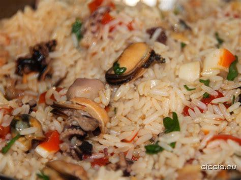 come si cucina il risotto ai frutti di mare ricette di cucina risotto ai frutti di mare