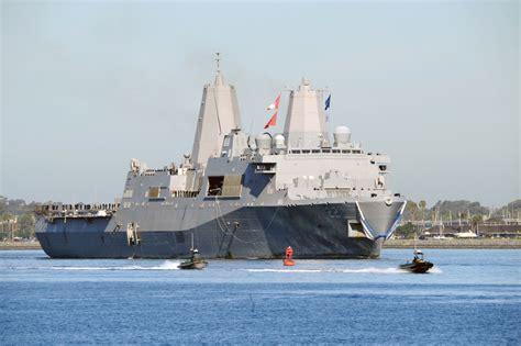 public boat r san diego bay uss san diego completes maiden deployment commander u s