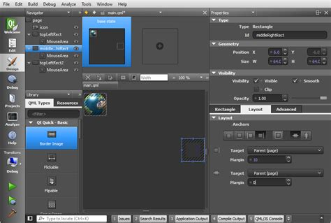 qt layout elements qt5 tutorial creating qtquick2 qml application animation a
