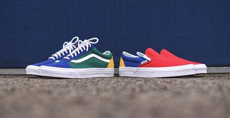 yacht club vans vans launches a colourful quot yacht club quot pack the idle man