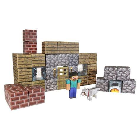 Target Minecraft Papercraft - minecraft papercraft shelter set target