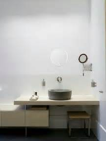 bathroom sink shelves floating concrete vessel sink on floating shelf master bathroom