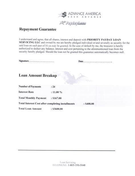 Advance Loan Letter From Company Ripoff Report Advance Amercia Complaint Review Nationwide