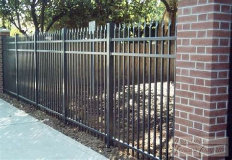 wrought iron security fencing modern home decor