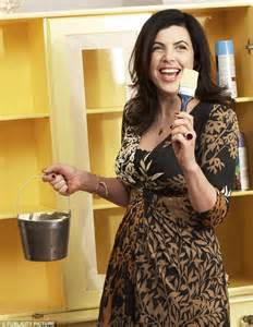 Painting Cabinets Cost Kirstie Allsopp Tv Presenter Appears In B Amp Q Diy Online