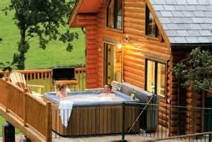 enjoy tub holidays in shropshire log cabins and lodges