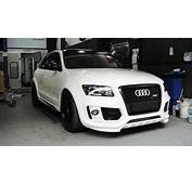 ABT BodyKit With Osir Carbon Front Grilll Install On Q5