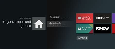 how to customize android how to customize your android tv home screen nvidia shield