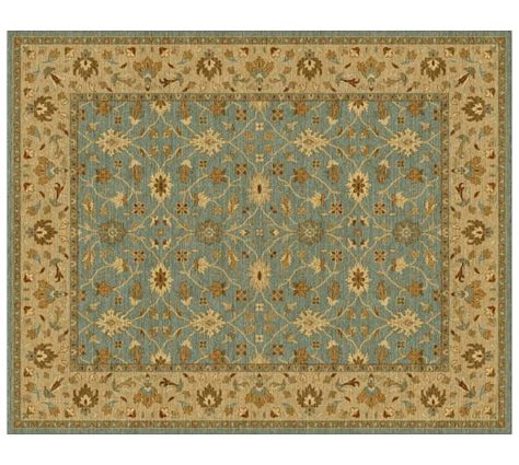 malika rug malika custom rug green multi 10 18 week delivery pottery barn